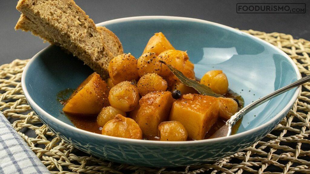 Πατάτες στιφάδο – Χωρίς κρέας καλύτερα!
