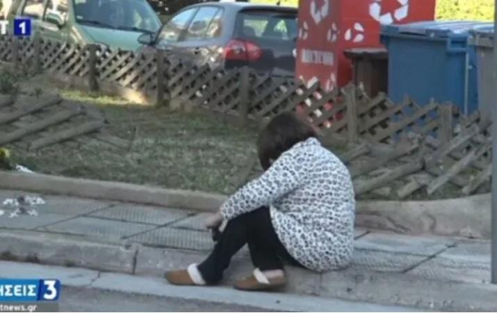 Δολοφονία Γ. Καραϊβάζ: Πήγε στο σημείο που δολοφονήθηκε η σύζυγος του – Δεν άντεξε και «λύγισε» (Βίντεο)