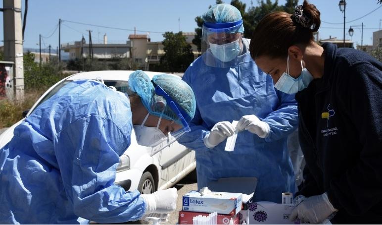 Κορονοϊός: Στα 3.833 τα νέα κρούσματα στη χώρα – Σοκ με 104 θανάτους, στους 819 οι διασωληνωμένοι