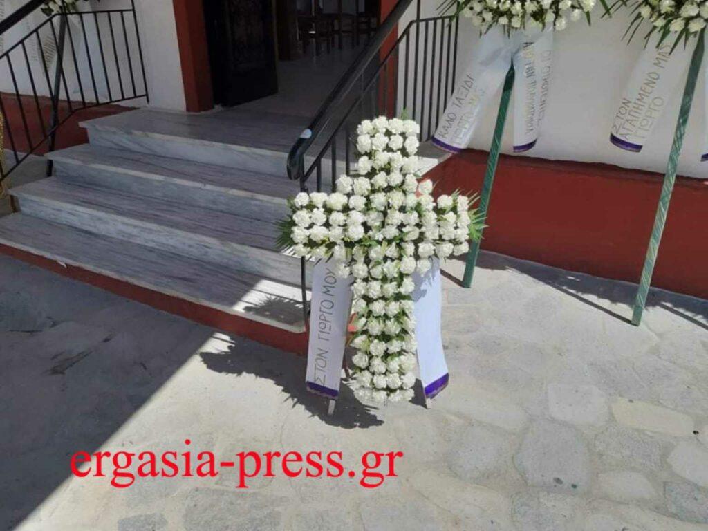 Κηδεία Γιώργου Καραϊβάζ: Συγκλόνισε ο γιος του – «Αν μπορούσε θα συγχωρούσε τους δολοφόνους του»