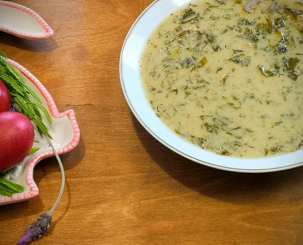 Μαγειρίτσα από την Εύα Παρακεντάκη