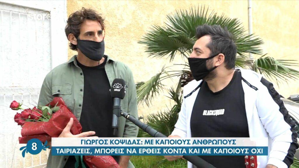 Γιώργος Κοψιδάς: Εύχομαι  ο Τριαντάφυλλος να είναι καλά στη ζωή του με την καριέρα και την οικογένειά του, αλλά…
