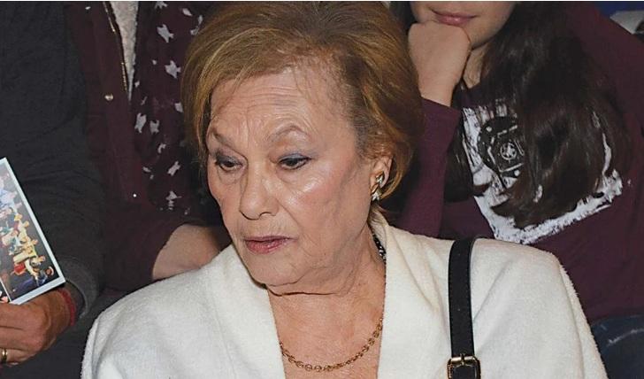 «Βουβός» πόνος για την Ελένη Προκοπίου – Αποχαιρέτησε για πάντα τον σύζυγό της