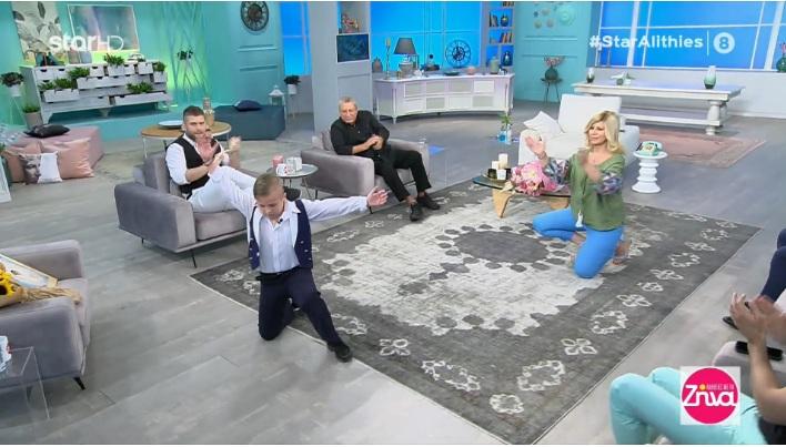 """Ο μικρός Μάριος χορεύει με λεβεντιά και συγκινεί  το τραγούδι """"Αλήθεια"""" στη μνήμη του Γιώργου Καραϊβάζ"""