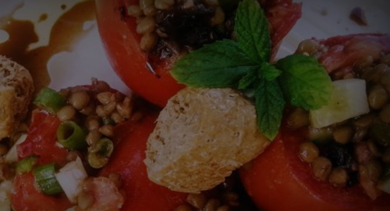 Φακές σαλάτα με αυγά από την Εύα Παρακεντάκη!