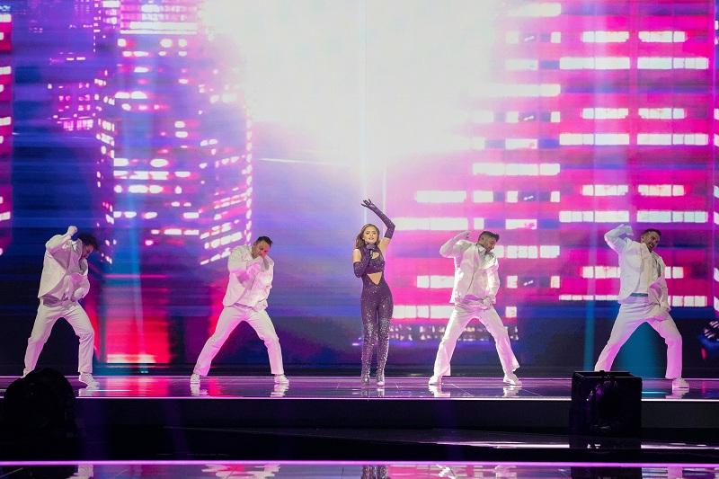 Eurovision 2021: Η Στεφανία εντυπωσίασε και στη δεύτερη πρόβα της! (Video)
