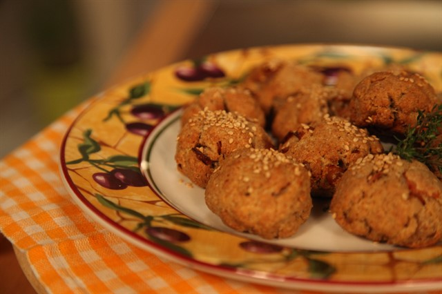 Πιτάκια με γαλοπούλα ή αλλιώς νοστιμομπαλάκια από την Εύα Παρακεντάκη
