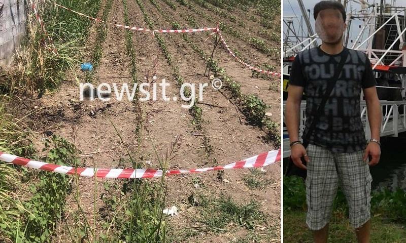 Έγκλημα στην Κατερίνη: Εδώ βρέθηκε καμμένος και δεμένος ο 45χρονος (pics)