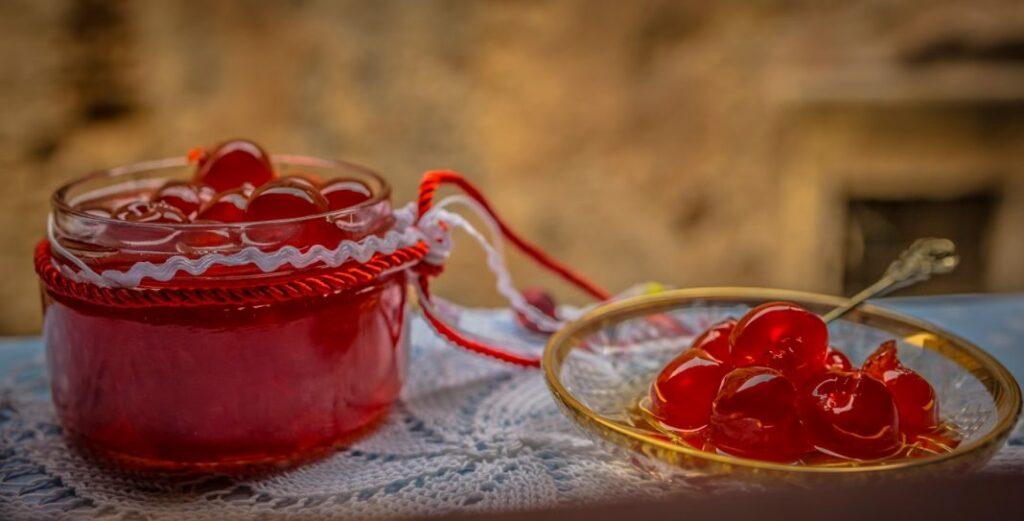 Γλυκό κουταλιού κεράσι με μέλι από την Εύα Παρακεντάκη!
