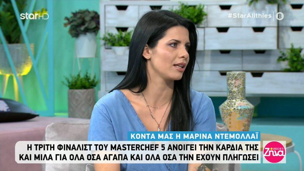 MasterChef – Μαρίνα: Ο Διονύσης στον διαγωνισμό με ενοχλούσε…