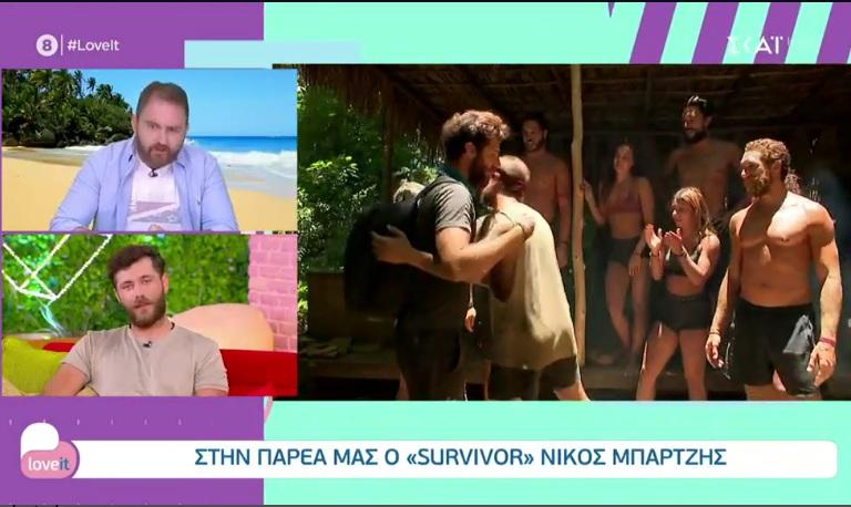 """""""Απασφάλισε"""" ο Νίκος Μπάρτζης: Όπως με έκρινες μπορώ να κρίνω και εγώ εσένα σαν τηλεθεατής"""