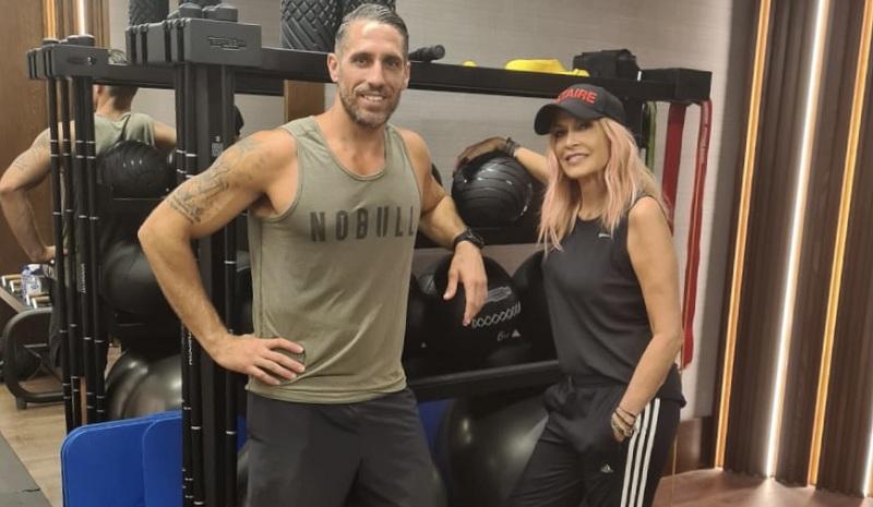 Άννα Βίσση-Ολιγοήμερες διακοπές στην Κύπρο με gym freak διάθεση!