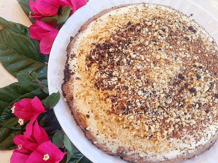 Γλυκό ψυγείου,καραμέλα-σοκολάτα-κρέμα-μπανάνα-μπισκότο από την Εύα Παρακεντάκη