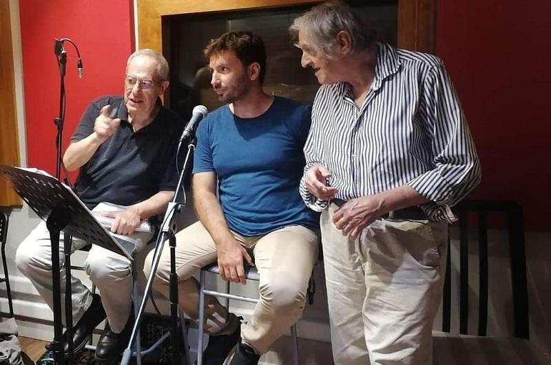 Ο  Δημήτρης Κανέλλος συμμετέχει σε παράσταση με τον Φώντα Λάδη και τον Λίνο Κόκκοτο