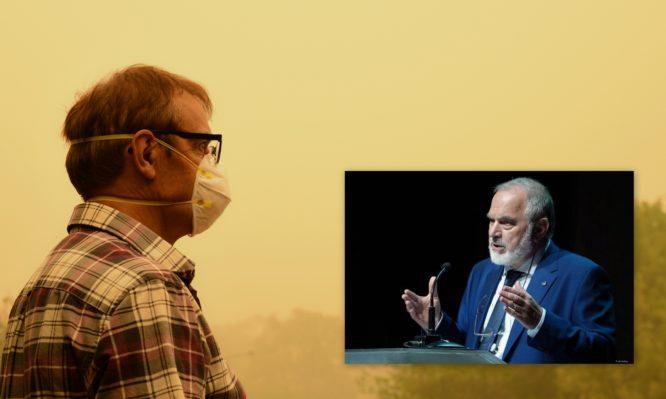 Πρόεδρος Αντικαρκινικής Εταιρείας: Στις περιοχές που μυρίζει καπνός, οι κάτοικοι να κλείνονται στα σπίτια τους