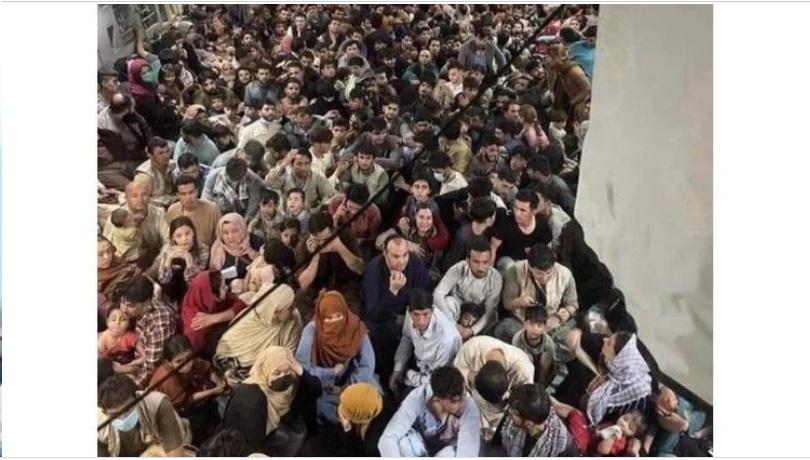 Αφγανιστάν: Συγκλονιστική εικόνα με 640 ανθρώπους στοιβαγμένους σε στρατιωτικό αεροσκάφος των ΗΠΑ