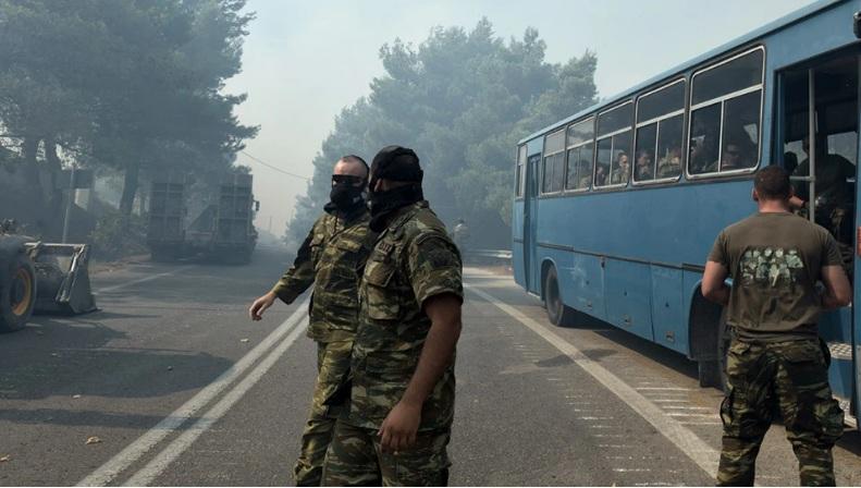 Ρίχνεται και ο στρατός στη μάχη με τις πυρκαγιές – Κακούργημα και πάλι ο εμπρησμός – Στην Ηλεία ο Μητσοτάκης
