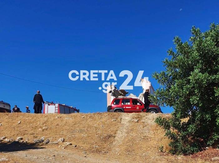 Σεισμός στο Ηράκλειο: Ένας νεκρός από την κατάρρευση εκκλησίας – 9 τραυματίες